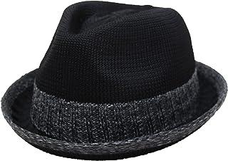 (エクサス)EXAS (大きめ59~62cm対応)サイズ調節テープ付きサーモコンビマニッシュハット(中折れハット 中折れ帽)