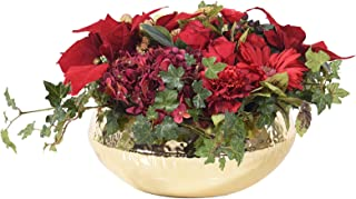 Little Green House Red Christmas Indoor Flowers Pot, Red