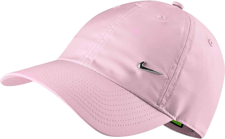 Nike Unisex's U Nk H86 Cap Metal Swoosh, Pink Foam, one Size