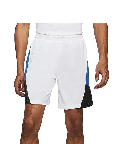 Nike Dry Rival Shorts (White/Game Royal/Black/White) Men