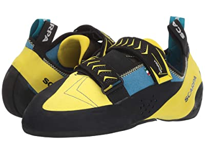 Scarpa Vapor V (Ocean/Yellow) Men