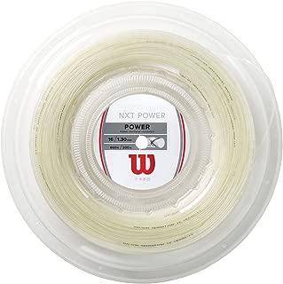 Wilson NXT Power Synthetic Gut Tennis String Reel, 16 Gauge (Natural)