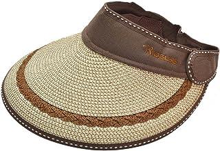 Sombrero de verano de paja cómodo sombrero de sol UV sombrero de copa sombrero de sol sombrero de playa