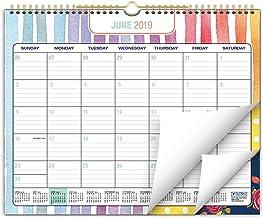 Calendario de pared 2019-2020, 12 x 15 cm, colorido,