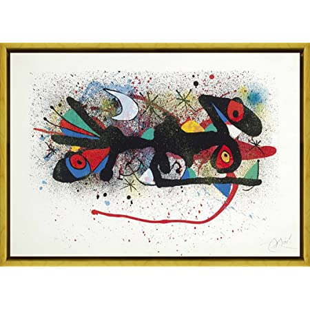 Amazon Com Berkin Arts Framed Joan Miro Giclee Canvas Print Paintings Poster Reproduction Ceramics Of Miro Artigas One Print Posters Prints