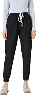 Miss Chase Women's Black Denim Joggers