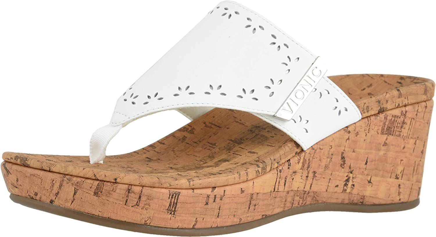 Max 65% OFF Vionic Women's Anitra Wedge Sandals -Toe-Post Outlet ☆ Free Shipping Sandal wi Platform