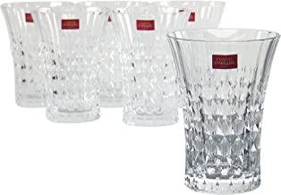 Luminarc Arc International Lady Diamond Diamax Highball Glass (Set of 6), 12 oz, Clear