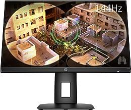 "HP 24"" FHD 144Hz 1ms GTG IPS LED FreeSync Gaming Monitor (X24ih) - Black"