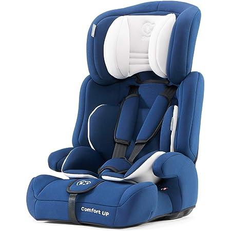 kk Kinderkraft Seggiolino Auto Comfort Up, Poggiatesta Regolabile, Cinture di Sicurezza, Gruppo 1/2/3, 9-36 Kg, Azzurro (Blu)