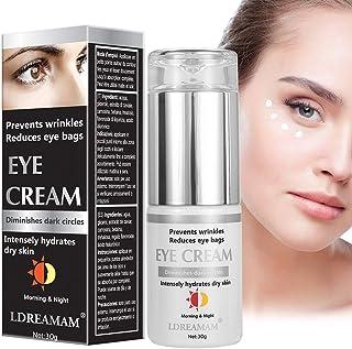 Crema de OjosCrema Contorno OjosEye CreamContorno de Ojos Antiarrugas Anti-edad Para OjerasBolsasPatas de Gallo e Hi...