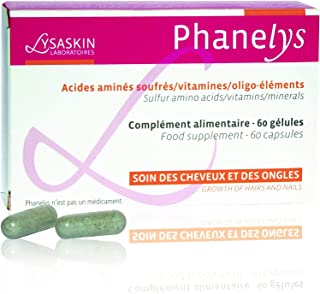 Lysaskin Phanelys Hair and Nails Food Supplement 60 Capsules