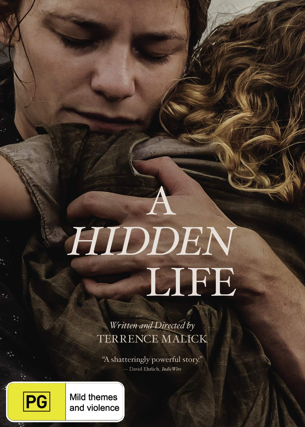 A Hidden Life DVD   A Film by Terrence Malick   NON USA Format   Region 20  Import   Australia