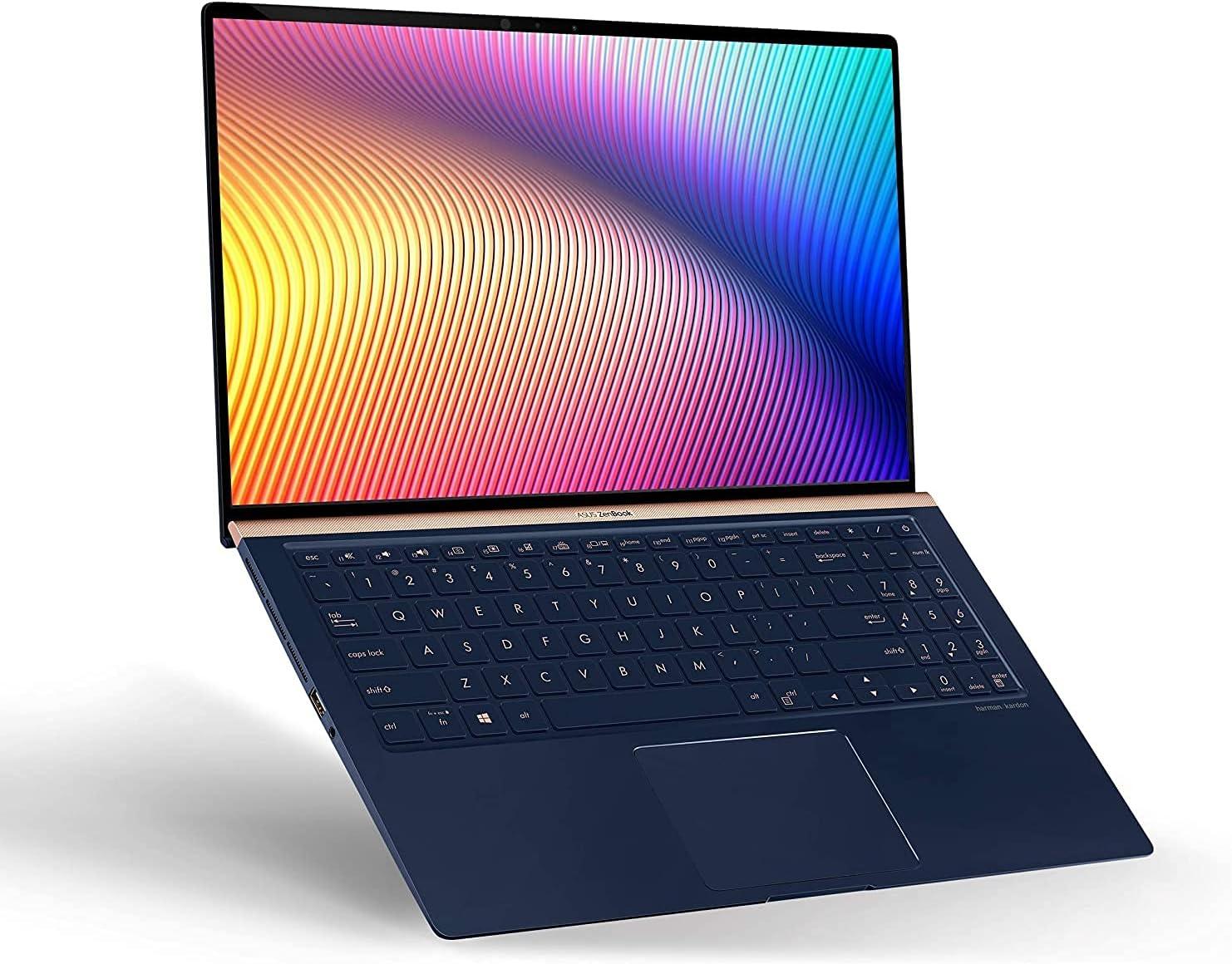 ASUS ZenBook Max 54% OFF 15 Ranking TOP3 Laptop 15.6 inches Intel Narrow 4-Way Bezel FHD