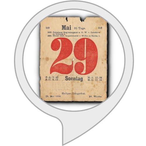 Historisches Kalenderblatt