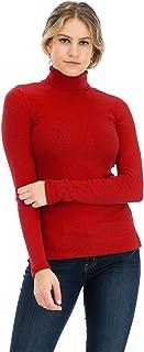 NANAVA Women's High Square Neck Racerback Cotton Camisole Top Ribbed Bodysuit