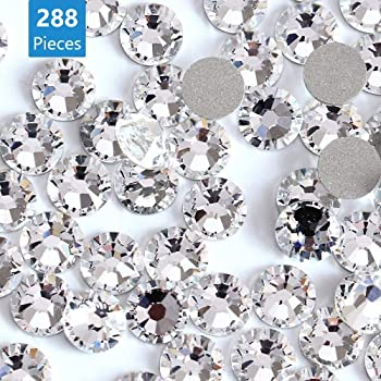 450 pcs 2mm By Zealer 6mm Resin clear crystal round Rhinestones Flatback Mix SIZE ~ M1-23