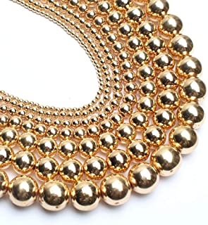 Best gold beads for jewelry making Reviews