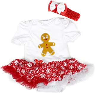 baby gingerbread man outfit