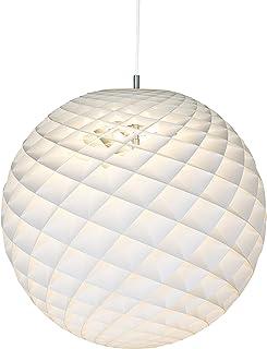 Patera ⌀ 600, max. 100W, E27, Louis Poulsen, Lámpara de Suspensión Diseñada por Øivind Slaatto (Blanco)