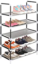 Cmerchants Smart Buy Home Utility Portable Space Saving 5 Layer Open Shoe Rack Organizer Stand