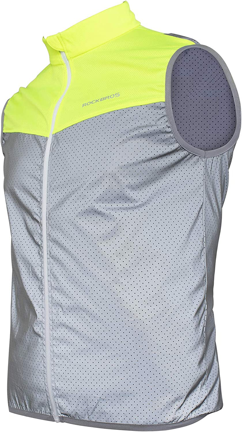 ROCK BROS Running Vest At the price Cycling Men Saf Reflective Women for Limited time free shipping
