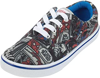 Spiderman Marvel Childrens Boys Comic Sneakers