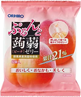 Orihiro Puru do and konnyaku jelly Series (Peach)
