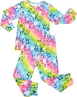 Ahegao Kids & Toddler Long Sleeve Pajamas Sets 3D Printed Soft Snug Fit Sleepwear for 2-9Y Girls