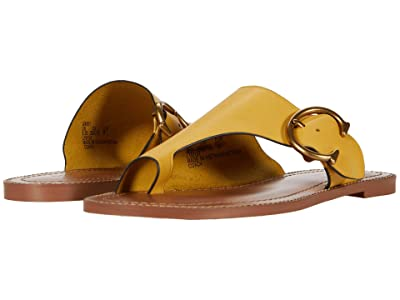 COACH Luca Sandal (Sunlight Smooth Leather) Women