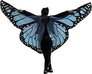Halloween Party Angel Butterfly Pattern Belly Dance Isis Wings(Adult/Child Size;No Sticks)