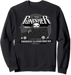 Marvel The Punisher Punishment Delivered Since 1975 Sweatshirt