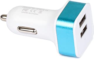 TapGear Car Charger Adapter (Blue & White)