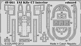 EDU49661 1:48 Eduard Color PE - IAI Kfir C7 Interior Detail Set (for use with the AMK kit) MODEL KIT ACCESSORY