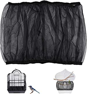 The Birdcage Covers Dust selfdepen The Birdcage Splash-proof Gauze The Round Birdcage Apron Is Anti-feathering To Reduce Garbage And The Gauze Can Be Adjusted Tightly