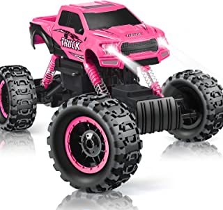 DOUBLE E RC Cars Newest 1:12 Scale Remote Control Car with Rechargeable Batteries and..