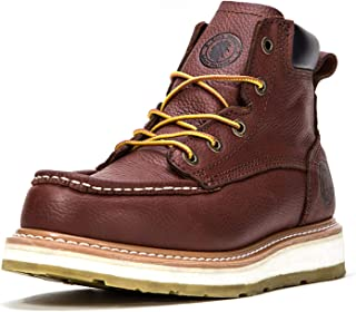 ROCKROOSTER Work Boots for Men, Composite/Soft/Steel Toe Waterproof Safety Working Shoes