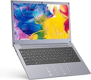 ノートパソコン PC 14インチ Windows 10 – Winnovo N140 Intel Celeron 4GBメモリ 64GBストレージ HDスクリーン 日本語キーボート 数値タッチパ ッド SSD拡張をサポート (グレー)