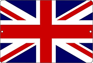 Rogue River Tactical United Kingdom British Metal Tin Sign Wall Decor Man Cave Bar UK Union Jack
