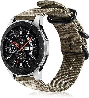 FINTIE Rem kompatibel med Samsung Galaxy 46 mm/Gear S3 Frontier/S3 Classic/Huawei Watch GT/GT 2 Smartwatch – mjukt vävd ny...