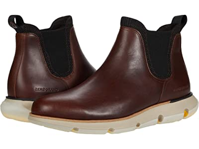 Cole Haan 4.Zerogrand Chelsea Wp (Earthen Waterproof/Ivory) Men