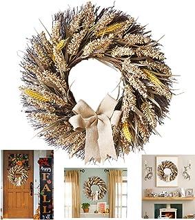 (ビグッド)Bigood ハロウィン 飾り リース 感謝祭 店舗 飾り付け コスプレパーティー 小物 造花 玄関 壁掛け クリスマス インテリア 結婚式 麦の穂