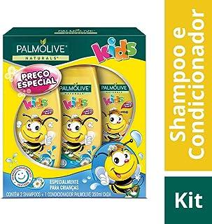 fc89c03db Shampoo e Condicionador Palmolive Naturals Kids Todo Tipo de Cabelo 350ml  Promo Leve 2 Shampoos +