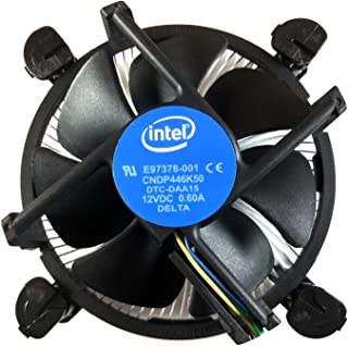 Intel Core i3 i5 i7 Socket 1151 1150 1155 1156 4-Pin Connector CPU Cooler with Copper Core Base & Aluminum Heatsink & 3.5-Inch Fan with Pre-Applied Thermal Paste (TS1)