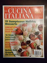 MAGAZINE OF LA CUCINA ITALIANA DECEMBER 1999