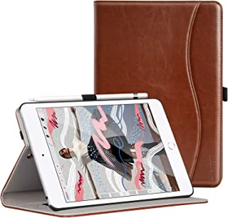 Ztotop for New iPad Mini Case 2019 5th Gen 7.9-inch, Premium Leather Slim Folio Stand Smart Cover Case for iPad Mini 5 2019 with Auto Sleep/Wake, Wallet Pocket, Pencil Strap Holder - Brown