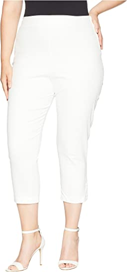 Plus Size High-Waist Savoy Capris
