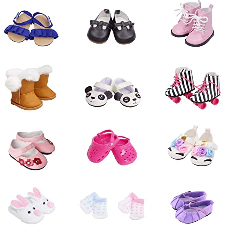 1 Pair doll shoes doll sandals for 18 inch 43cm dolls acces Christmas giftWP5OS