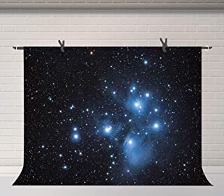 FUERMOR Background 7x5ft Night Starry Sky Photography Backdrop Studio Photo Props N996
