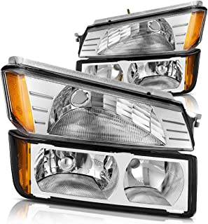 2003 chevy avalanche headlights with body cladding